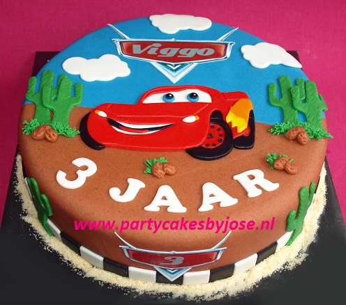 cars taart rotterdam Partycakes by José cars taart rotterdam